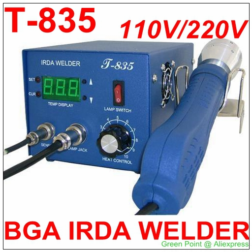 Expressive Authorized Original Puhui T-835 Bga Irda Welder T835 Infrared Bga Rework Station Irda Soldering Welder 35 Mm Fashionable And Attractive Packages Electric Soldering Irons