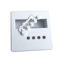 1 шт. белый электронный проект коробка практичный пластиковый корпус чехол с кнопками для DIY LCD1602 86x86x26 мм