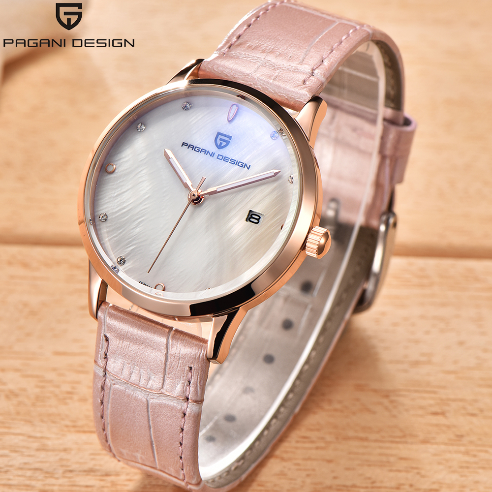 Pagani Women Watch Brand luxury Fashion Casual Unique Lady Wrist watches pink leather quartz waterproof Stylish relogio feminino pagani women watch brand luxury fashion casual unique lady wrist watches pink leather quartz waterproof stylish relogio feminino