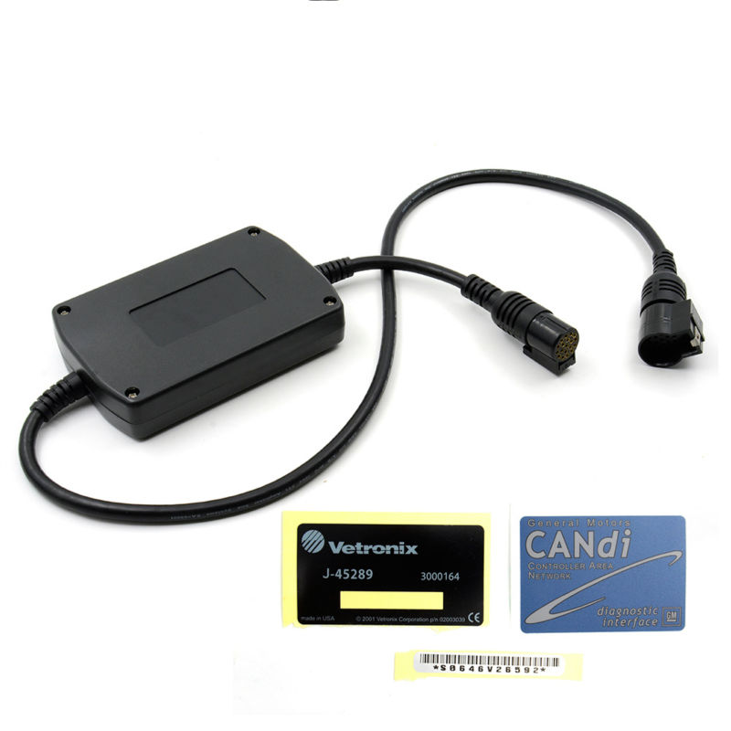 For Tech2 Auto Diagnostic Connector Adapter Tech2 Candi Interface Work For G-M Tech 2 Candi multi function module Free shipping стоимость