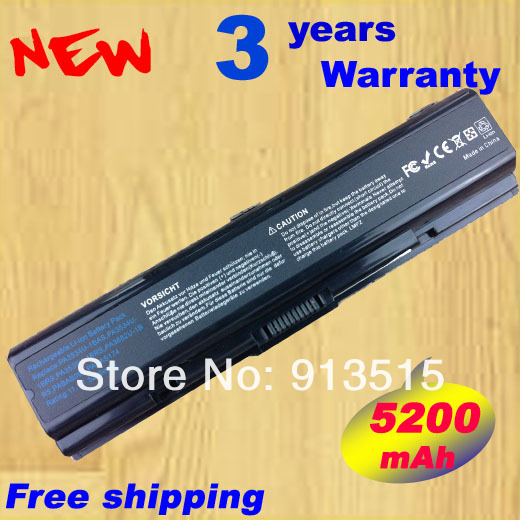 6cell Battery For Toshiba Satellite A500 L200 L203 L500 L505 L555 M205 M207 M211 M216 M212