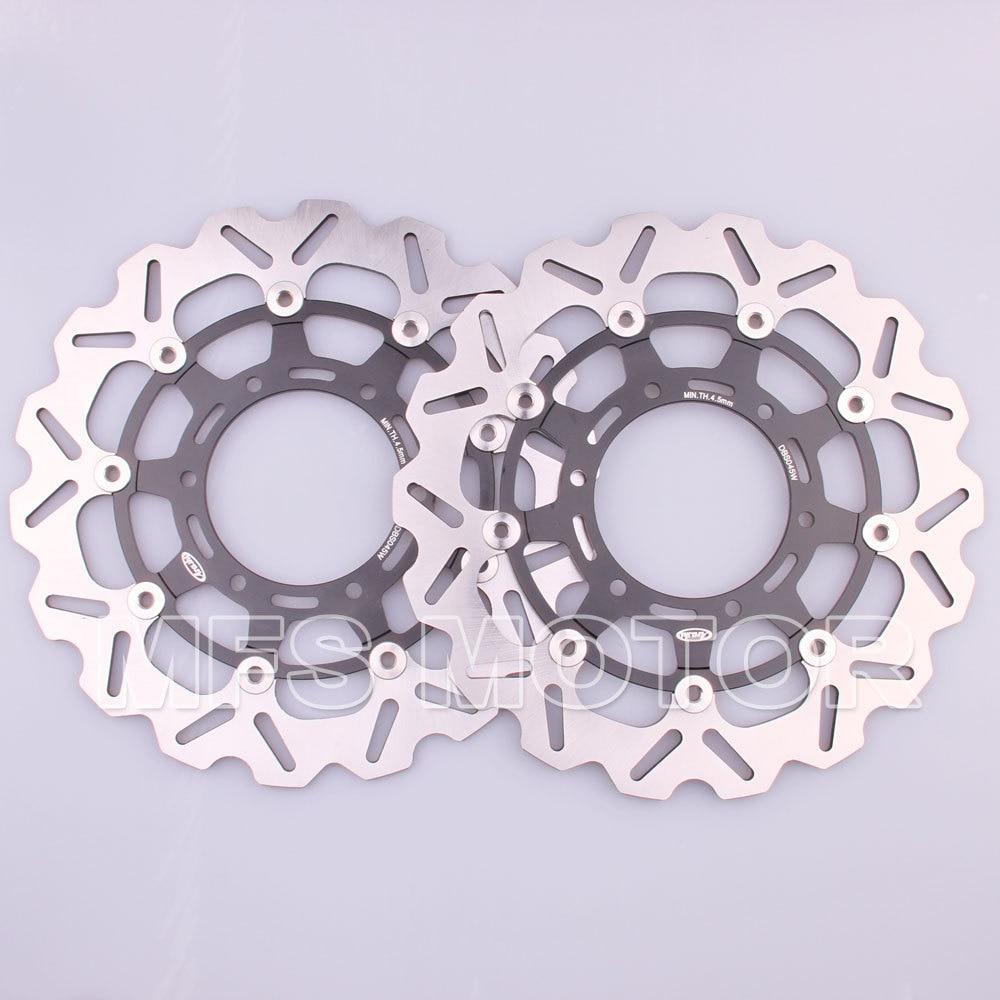 Front brake discs rotor motor for suzuki gsxr 600 750 2008 2009 2010 2011 2012 2013 gsxr1000 2009 2010 gsxr 1000 09 10 black