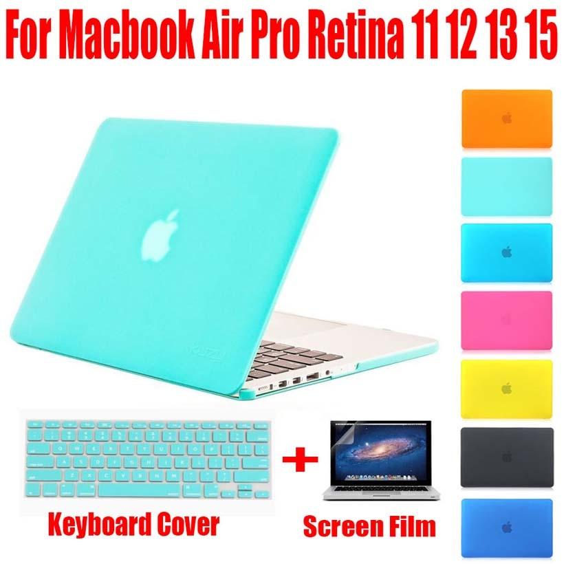 Crystal Cover Case för Macbook Laptop för Mac bok luft 11 pro 13 - Laptop-tillbehör