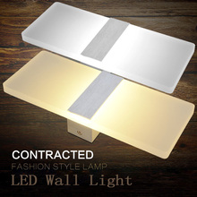 LAIMAIK LED Wall Light Acrylic Wall Lamp Bedroom Bedside Light Living Room Balcony Aisle Wall Lamp Corridor Wall Sconce Lamp недорого
