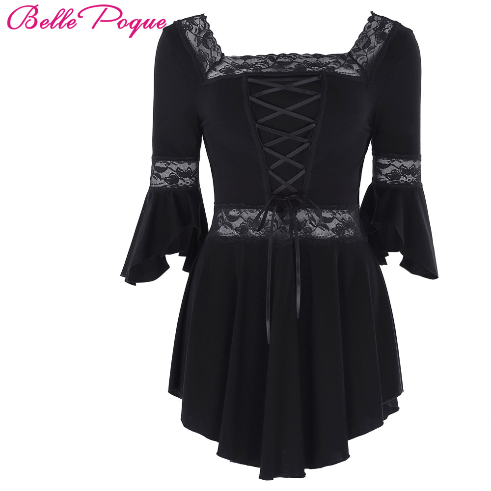Popular Plus Size Gothic Wedding Gowns Buy Cheap Plus Size: Aliexpress.com : Buy Half Sleeve Lace Victorian Blouse