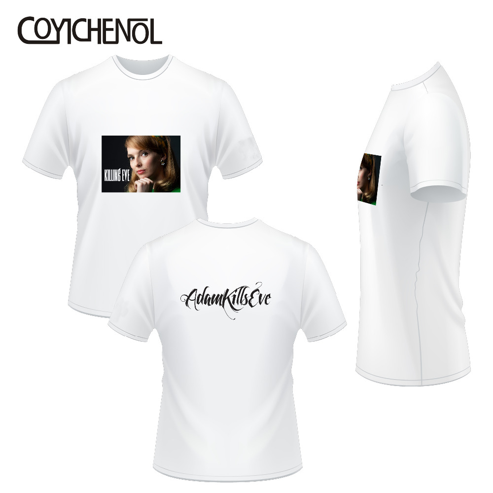 Killing Eve oversized Print tee funny customize tshirt solid color modal tops short sleeve O neck men T shirt homme COYICHENOL in T Shirts from Men 39 s Clothing