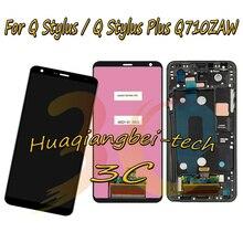 6.2 Para LG Q Stylus Q710GX Q710EM Q710WA/Q Stylus Mais Q710ZAW DIsplay LCD Completa + Tela de Toque digitador Assembléia Com Frame