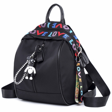Backpack Korean Version Of The Wild Casual Girl Backpack Oxford Cloth Small Canvas bag For Shopping цены