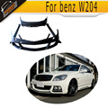 High quality FRP W204 W styling car bumper body kit for benz,auto body kit for W204(fit W204 2014UP)