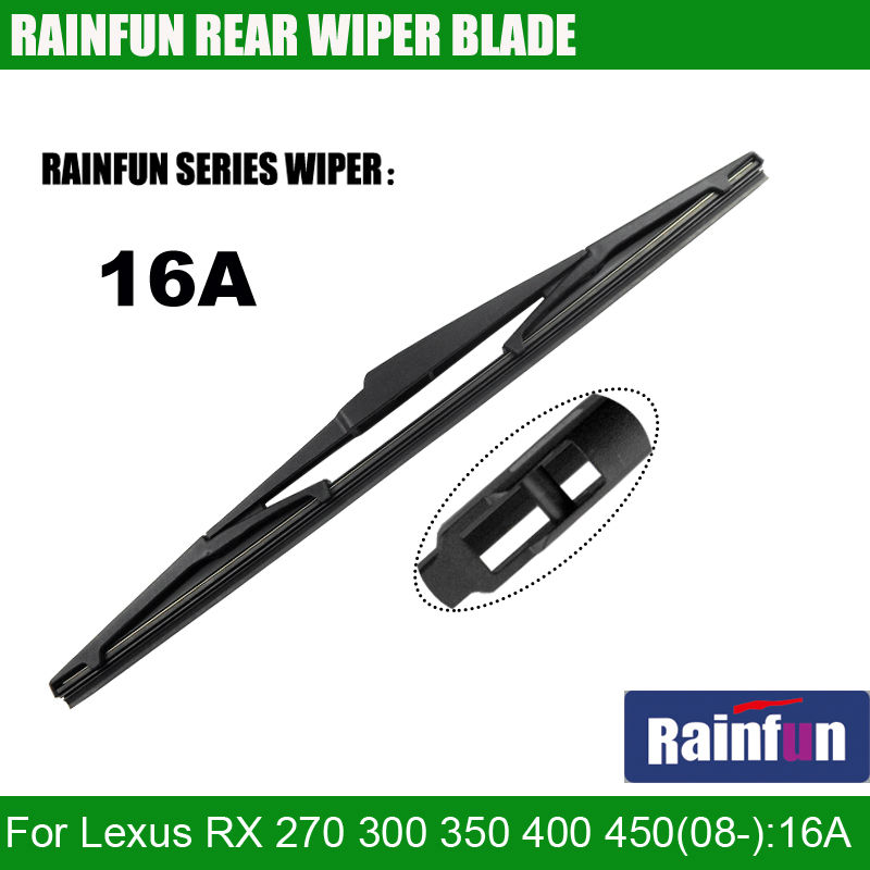 RAINFUN 16A dedicated rear wiper blade for Lexus RX 270 300 350 <font><b>400</b></font> 450(06-), <font><b>16</b></font>