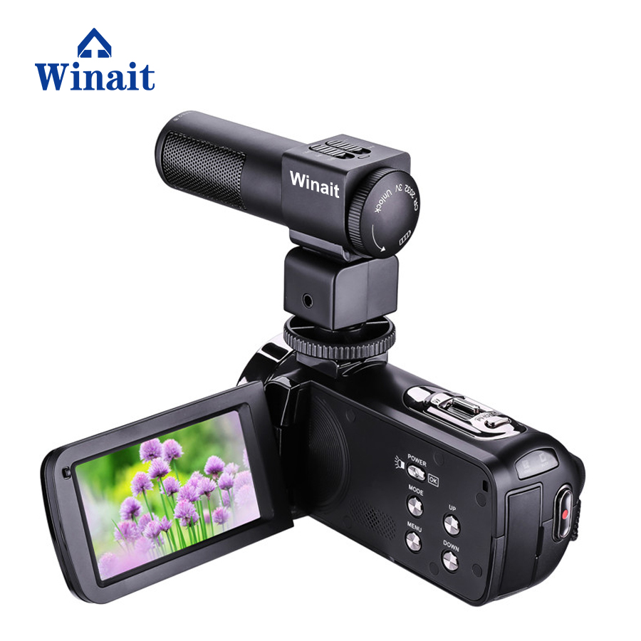 Winait full hd 1080p digital video camera night vision mini DV free shipping