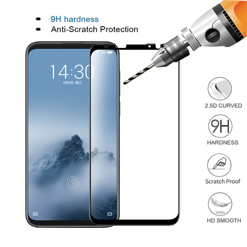 9h-Protective-film-for-Meizu-16th-full-cover-tempered-glass-for-meizu-16th-plus-6-5inch
