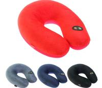 ASLT New Invention Comfortable Multi Color Cartoon U Shaped Neck Travel Pillow Automatic Neck Support Head