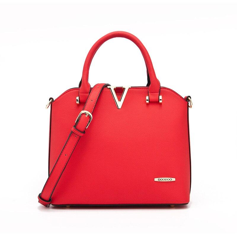 Doodoo Women's Shell Satchel Leather Bag Top Handle Tote Handbag Office Ladies Purse Shoulder Bag Fashion Crossbody Bag кабели для наушников fiio rc athb white