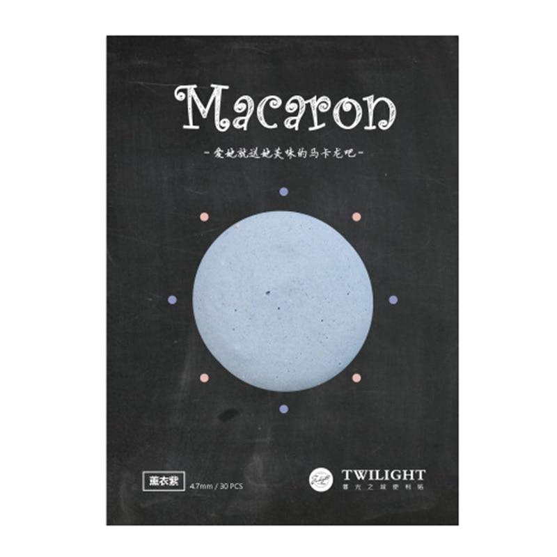 8 түсті Macaron жабысқақ жадыбалы Vintage - Блокноттар мен жазу кітапшалары - фото 4