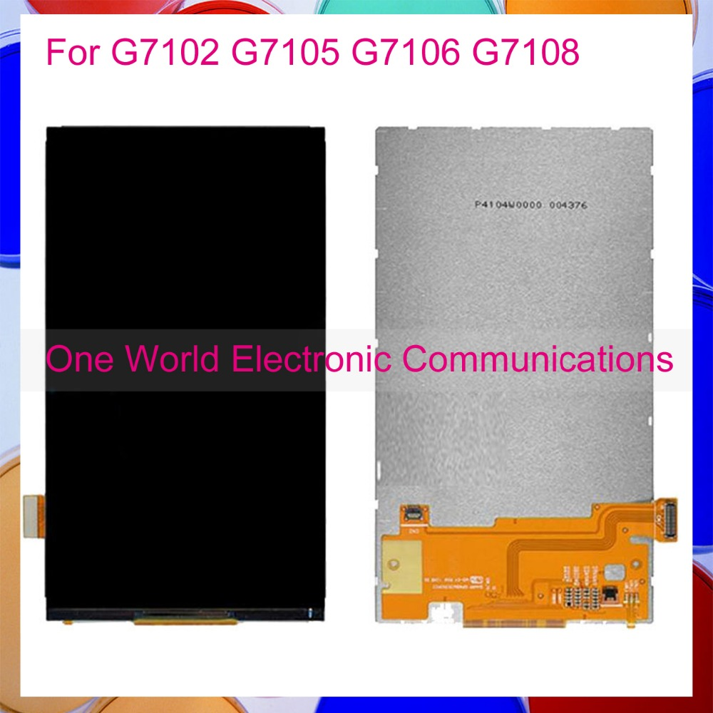 One World Hight Quality Phone For Samsung Galaxy Grand 2 G7102 G7105 G7106 G7108 LCD Display Screen Tracking Code Free Shipping