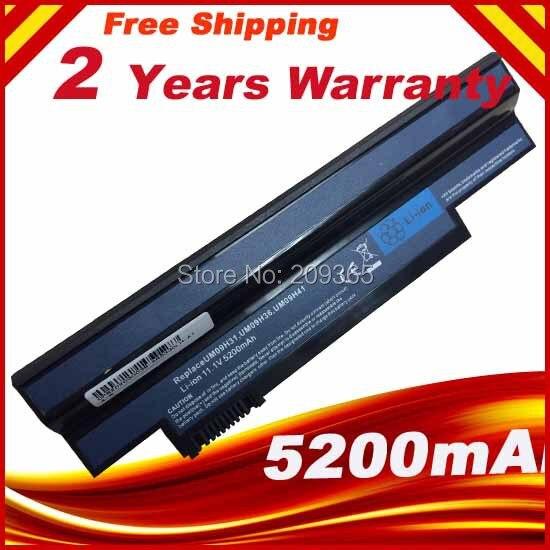 Batterie d'ordinateur portable pour ACER Aspire one ao533 - kk3g ao533 - ww3g eMachines 350 350-21G16i eM350 NAV50 NAV51