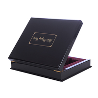 Gift wooden box with 2sets plastic playing cards waterproof Durable cards game and PVC Poker cards Gambling Pokerstars Gift