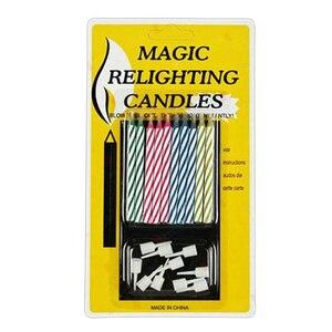 10 штук упак. свечи на день рождения, шутки остроты, шуточки, шуточки, фокусы, забавные Новые забавные гаджеты, шуточки, не выдувание свечей, иг...