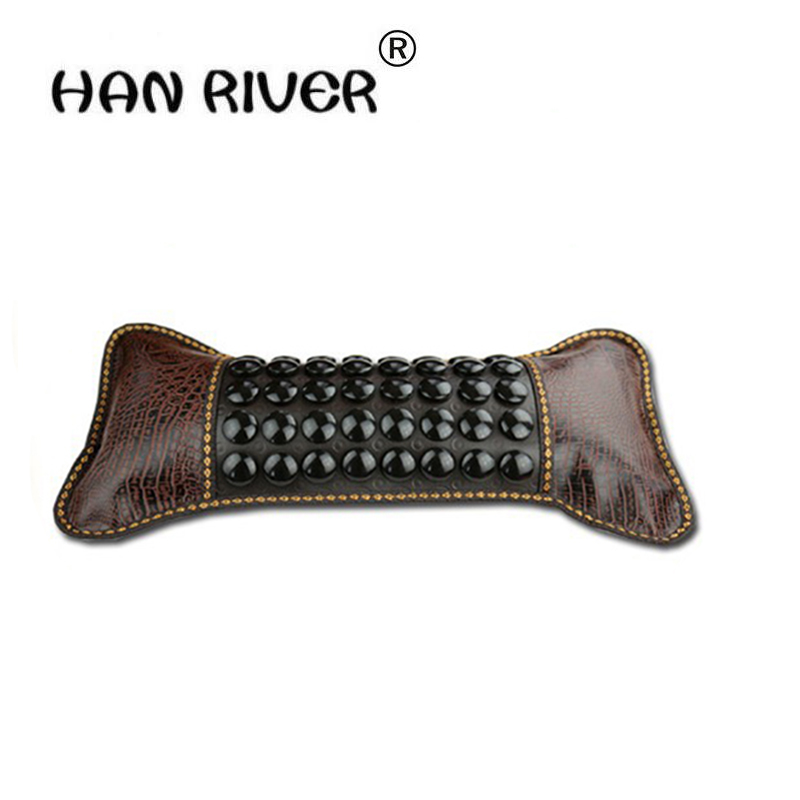 2016 New Arrival Cheap Price Tourmaline Heating Pillow, Therapy Tourmaline Jade Pillow Cushion Free Shipping 2016 hot heating jade cushion natural tourmaline physical therapy pillow korea heated neck pillow free shipping
