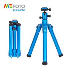 Mefoto MF25 Professional Aluminum Tripod Kit Lightweight Photography Bracket Portable Mobile Tripod Stable Ball Head For DSLR