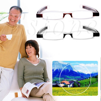 Il miglior nuovo 1 PC Nuovo Duraturo 360 gradi di Rotazione Pieghevole Occhiali Da Lettura Occhiali 1.0 ~ 4.0 Diottrie hot4484
