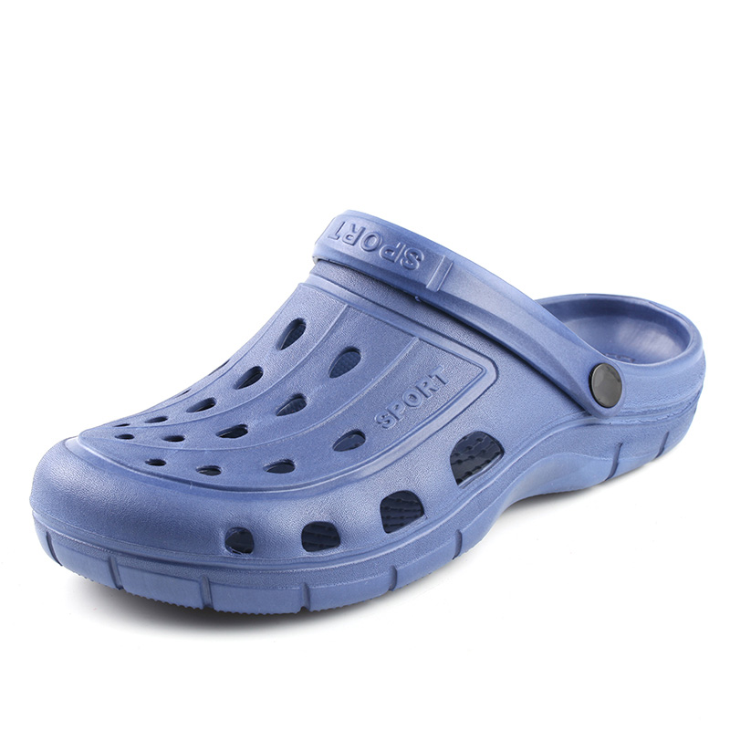 Dropshipping Summer Men Garden Clogs Slippers EVA Casual Fashion Soft Bottom Sandals For Men Men Lightly Slipper Mule Big Size