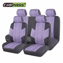 Автомобильные чехлы для сидений автомобиля сэндвич сетчатый материал аксессуары для интерьера пять сидений универсальные автомобильные аксессуары для девочек для Lada BMW