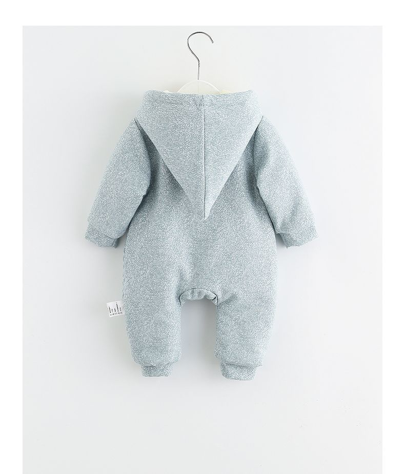 5480d887e Winter Baby Romper Animal Thick Warm Baby Boys Girls Clothes Hooded ...
