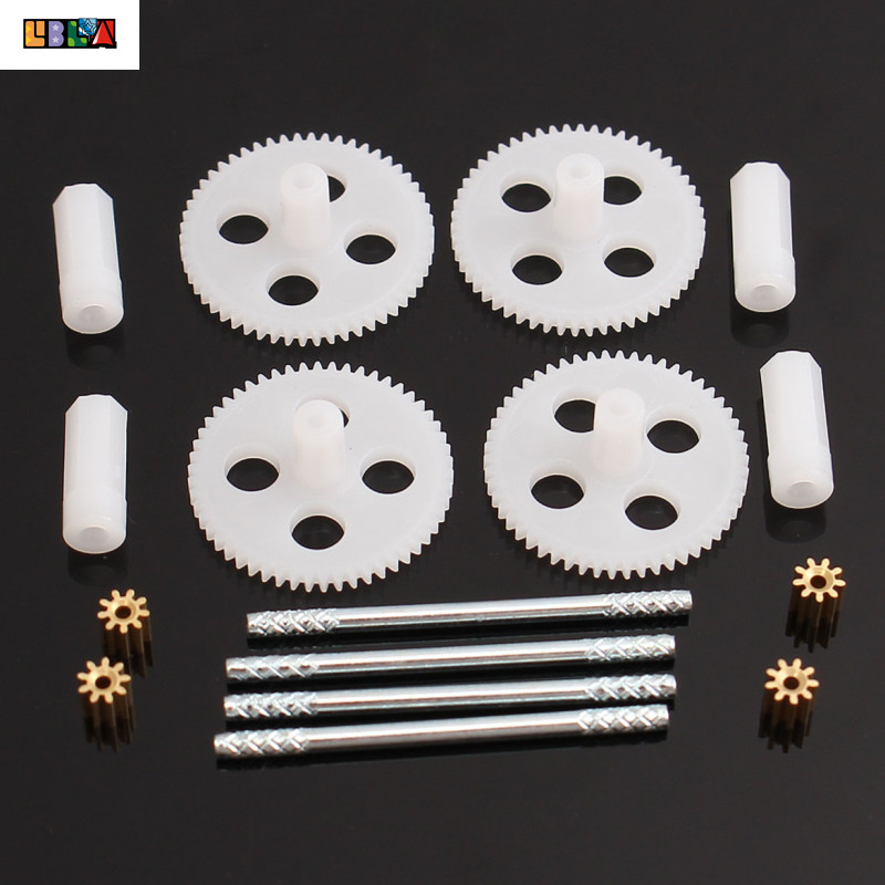 Gearsets Motor Gear For Syma X5 X5C X5SC RC Quadcopter Drone Spare Parts Motor Gear And Main Gears Set(China)