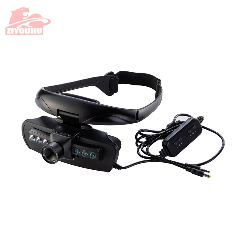 Image 5 - HD Infrared Night Vision Goggles Head Mounted Type Light Weight Viewing in the Dark Device for Hunting Night Binocular Telescope-in Night Visions from Sports & Entertainment