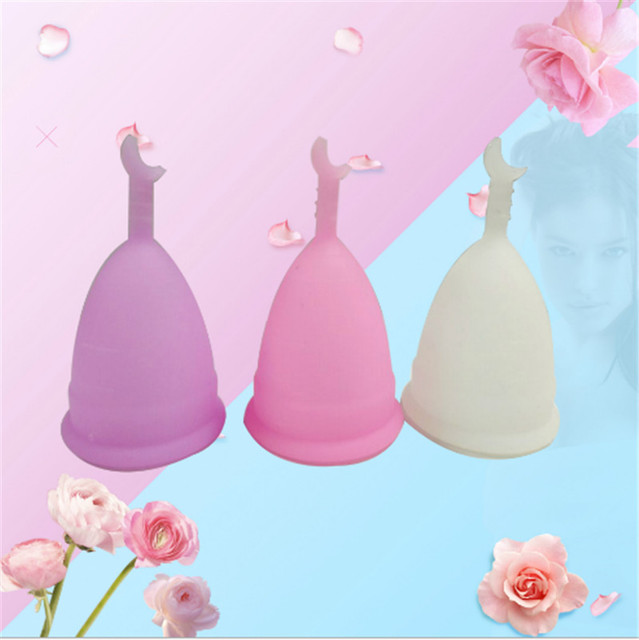 Hot Sell menstrual cup for women feminine hygiene product medical grade silicone vagina use small or big size anner cup