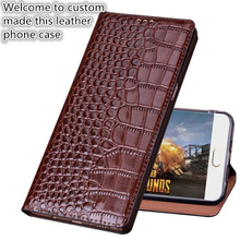 лучшая цена SS02 Genuine leather flip cover with kickstand for Oneplus 6(6.28') phone case for Oneplus 6 leather case free shipping