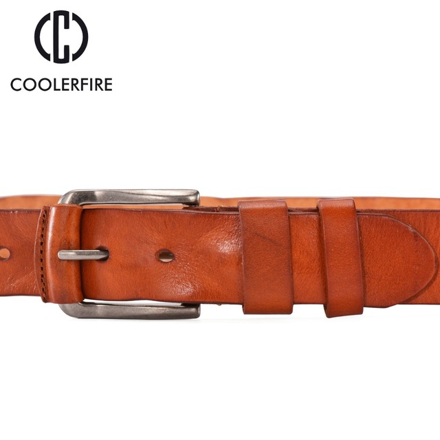 Coolerfire Men Leather Belt