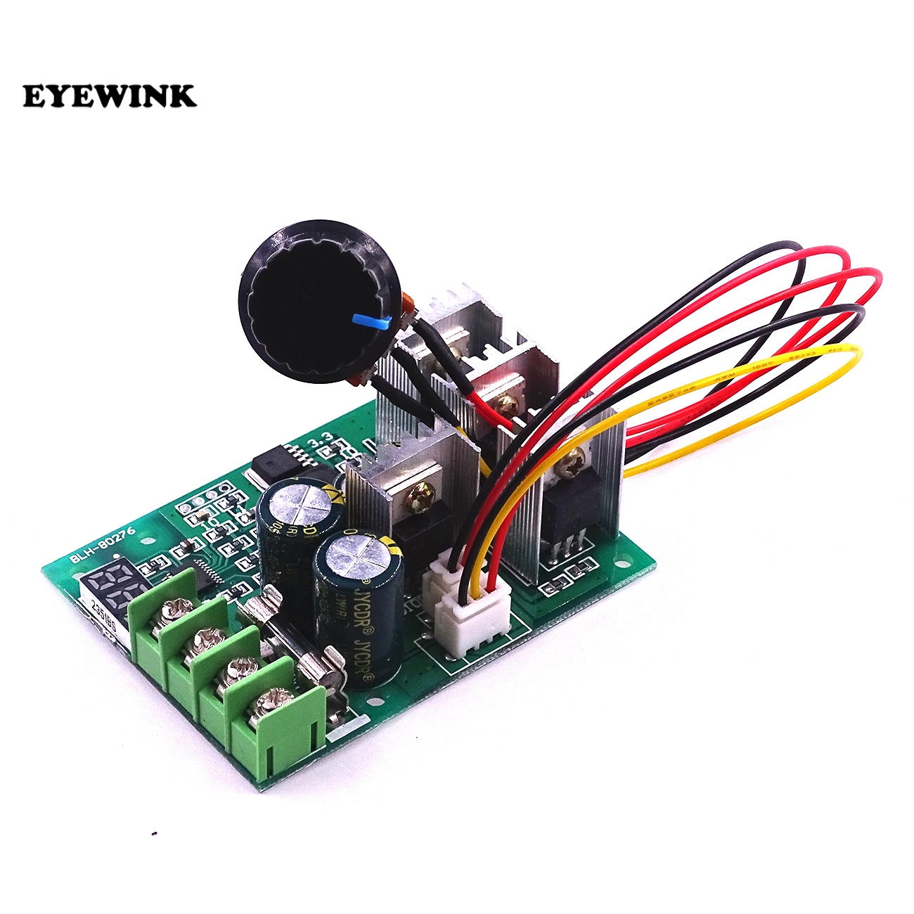 Dedicated Eyewink 5set Dc Motor Speed Controller Digital Display 0~100% Adjustable Drive Module 6v~60v Input Max30a Electronics Production Machinery