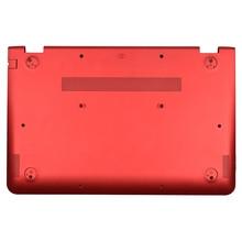 Original New For HP Pavilion X360 15-BK 15T-BK 15-BK062SA 15-BK060SA Laptop Bottom Case Cover Red 862640-001