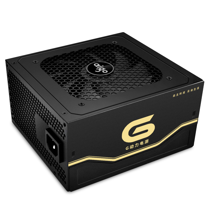 Aigo G6 active power supply Rated power 600W Max power 650W 12V atx pc desktop computer power supply fuente de alimentacion цена