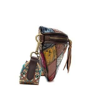 Image 4 - WESTALกระเป๋าสตรีไหล่กระเป๋าMessengerแท้กระเป๋าผู้หญิงShell Mini Crossbodyกระเป๋าPatchworkขนาดเล็กออกแบบกระเป๋า 088