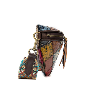 Image 4 - WESTAL sacchetti di spalla delle donne del messaggero del cuoio genuino borse per le donne shell mini crossbody bag patchwork piccolo borse desinger 088