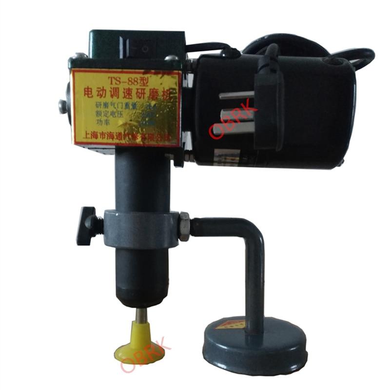 TS-88 Ferramentas de Motor de Carro Elétrica Velocidade Ajustável Válvula Elétrica Moedor de Válvula Ajustável