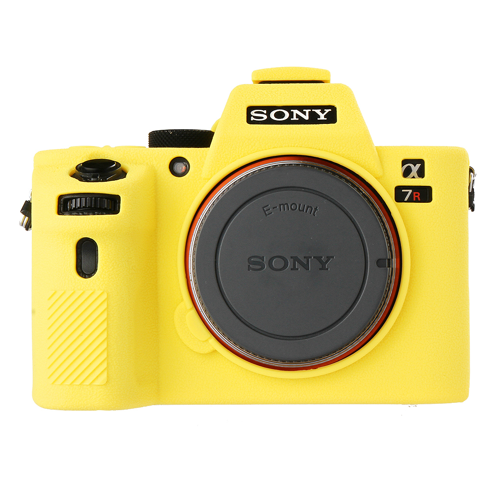 Soft Silicone Rubber Camera Protective Body Case Skin For Sony A7II A7SII A7R II Camera Bag Protector Cover
