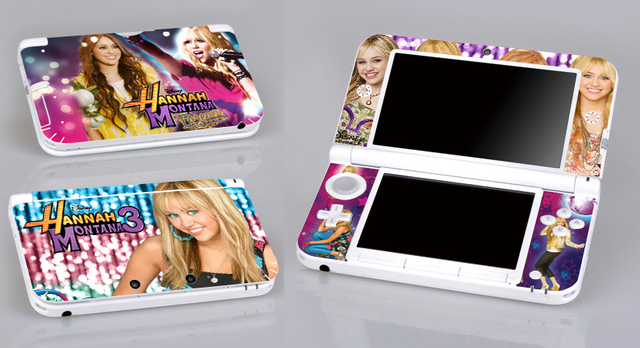 eed89c079b9351 Hannah Montana 3 339 Vinyl Skin Sticker Protector for Nintendo 3DS XL LL  skins Stickers
