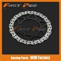 Front Brake Disc Rotor For Kawasaki Ninja 250r EX250 EX250R ABS 08 09 10 11 12 Motorcycle
