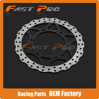 Front Brake Disc Rotor For Kawasaki Ninja 250r EX250 EX250R ABS 08 09 10 11 12 Motorcycle