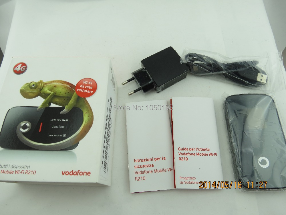 Original Unlock LTE 100Mbps Vodafone Mobile Wi-Fi R210 HUAWEI 4G LTE Wireless Router