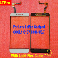 High Quality New Front Touch Screen Digitizer For Letv Coolpad Le LeEco Cool 1 Dual C106