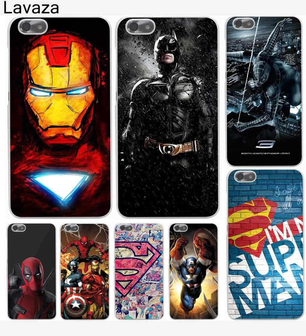 Lavaza Marvel Avengers Captain America Shield Iron man Hard Case for Huawei P8 P9 P10 P20 P30 Lite Plus P20 P30 Pro P smart 2019
