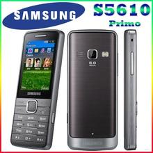 S5610 ursprünglicher freigesetzter samsung s5610 2,4 'inch bluetooth 5mp 1000 mah gsm mp3-player handy freies verschiffen