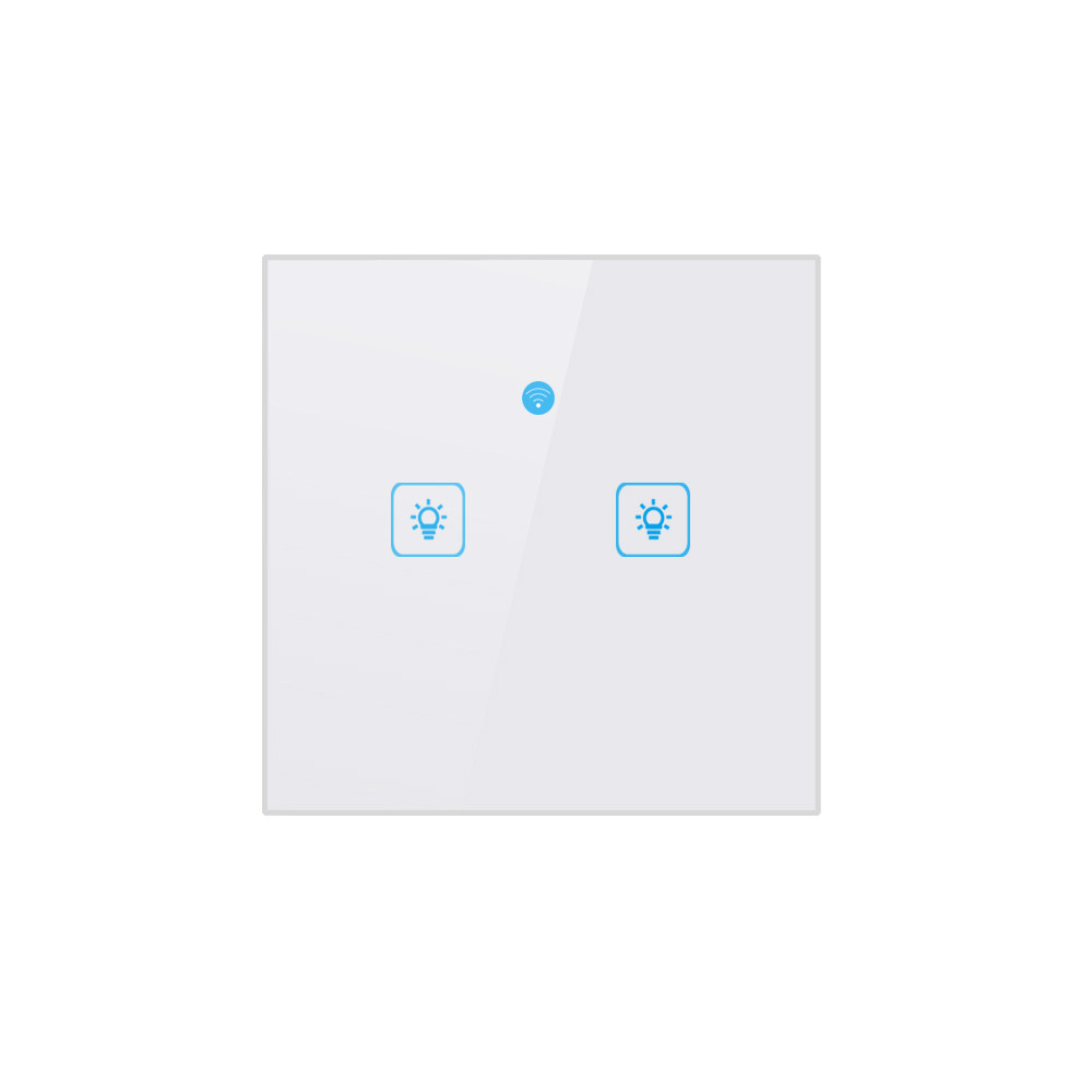 SONOFF New Product AC90~250V UK Smart WiFi Two Button Switch Switch For  Amazon Alexa/Google Home App