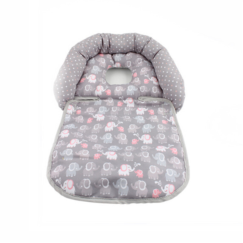 Newborn Infant Baby Stereotype Pillow Folding Pillow For Baby Cart And Rockers Neck Head Cushion Protection Pillow